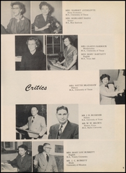 Page 15, 1954 Edition, Robert E Lee High School - Lee Traveler Yearbook (Baytown, TX) online yearbook collection