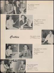 Page 16, 1954 Edition, Robert E Lee High School - Lee Traveler Yearbook (Baytown, TX) online yearbook collection