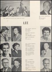 Page 14, 1956 Edition, Robert E Lee High School - Lee Traveler Yearbook (Baytown, TX) online yearbook collection