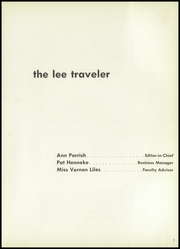 Page 7, 1958 Edition, Robert E Lee High School - Lee Traveler Yearbook (Baytown, TX) online yearbook collection