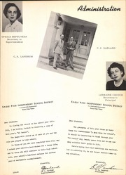 Page 7, 1951 Edition, Eagle Pass High School - El Cenizo Yearbook (Eagle Pass, TX) online yearbook collection