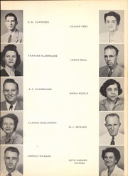 Page 9, 1951 Edition, Eagle Pass High School - El Cenizo Yearbook (Eagle Pass, TX) online yearbook collection
