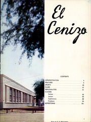 Page 7, 1956 Edition, Eagle Pass High School - El Cenizo Yearbook (Eagle Pass, TX) online yearbook collection