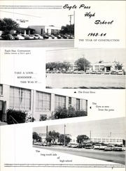 Page 7, 1964 Edition, Eagle Pass High School - El Cenizo Yearbook (Eagle Pass, TX) online yearbook collection