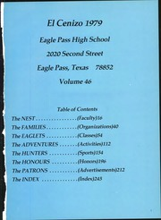 Page 5, 1979 Edition, Eagle Pass High School - El Cenizo Yearbook (Eagle Pass, TX) online yearbook collection