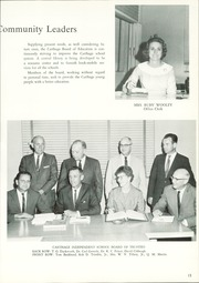 Page 17, 1966 Edition, Carthage High School - Pine Burr Yearbook (Carthage, TX) online yearbook collection