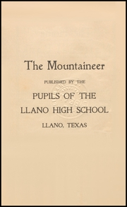 Page 5, 1900 Edition, Llano High School - Yellow Jacket Yearbook (Llano, TX) online yearbook collection