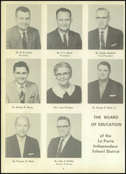 Page 8, 1959 Edition, La Porte High School - Reflector Yearbook (La Porte, TX) online yearbook collection