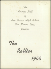 Page 5, 1956 Edition, San Marcos High School - Rattler Yearbook (San Marcos, TX) online yearbook collection