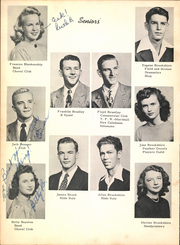 Page 14, 1947 Edition, Lufkin High School - Fang Yearbook (Lufkin, TX) online yearbook collection