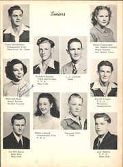 Page 15, 1947 Edition, Lufkin High School - Fang Yearbook (Lufkin, TX) online yearbook collection