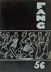 1956 Edition, Lufkin High School - Fang Yearbook (Lufkin, TX)