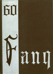 1960 Edition, Lufkin High School - Fang Yearbook (Lufkin, TX)