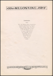 Page 10, 1914 Edition, Weatherford High School - Melon Vine Yearbook (Weatherford, TX) online yearbook collection