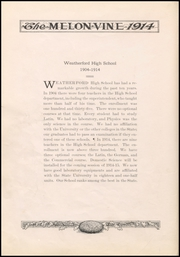 Page 12, 1914 Edition, Weatherford High School - Melon Vine Yearbook (Weatherford, TX) online yearbook collection