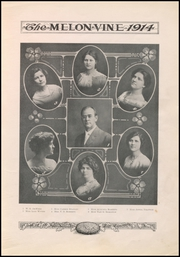 Page 15, 1914 Edition, Weatherford High School - Melon Vine Yearbook (Weatherford, TX) online yearbook collection