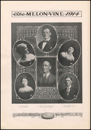 Page 16, 1914 Edition, Weatherford High School - Melon Vine Yearbook (Weatherford, TX) online yearbook collection