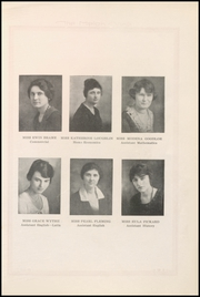 Page 17, 1921 Edition, Weatherford High School - Melon Vine Yearbook (Weatherford, TX) online yearbook collection