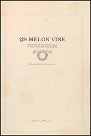 Page 9, 1921 Edition, Weatherford High School - Melon Vine Yearbook (Weatherford, TX) online yearbook collection
