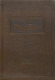 Page 1, 1927 Edition, Weatherford High School - Melon Vine Yearbook (Weatherford, TX) online yearbook collection