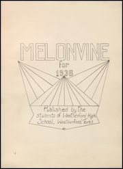 Page 5, 1936 Edition, Weatherford High School - Melon Vine Yearbook (Weatherford, TX) online yearbook collection