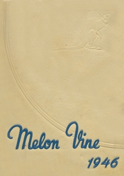 Page 1, 1946 Edition, Weatherford High School - Melon Vine Yearbook (Weatherford, TX) online yearbook collection
