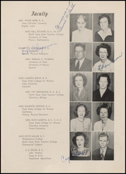 Page 11, 1946 Edition, Weatherford High School - Melon Vine Yearbook (Weatherford, TX) online yearbook collection