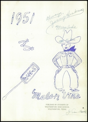 Page 5, 1951 Edition, Weatherford High School - Melon Vine Yearbook (Weatherford, TX) online yearbook collection