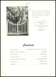Page 6, 1951 Edition, Weatherford High School - Melon Vine Yearbook (Weatherford, TX) online yearbook collection