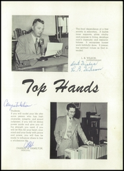 Page 9, 1951 Edition, Weatherford High School - Melon Vine Yearbook (Weatherford, TX) online yearbook collection