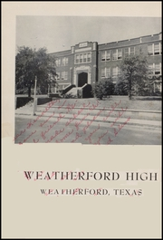 Page 10, 1953 Edition, Weatherford High School - Melon Vine Yearbook (Weatherford, TX) online yearbook collection