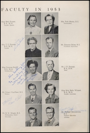 Page 17, 1953 Edition, Weatherford High School - Melon Vine Yearbook (Weatherford, TX) online yearbook collection