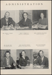 Page 11, 1955 Edition, Weatherford High School - Melon Vine Yearbook (Weatherford, TX) online yearbook collection