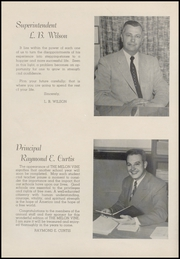 Page 12, 1955 Edition, Weatherford High School - Melon Vine Yearbook (Weatherford, TX) online yearbook collection