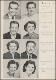 Page 14, 1955 Edition, Weatherford High School - Melon Vine Yearbook (Weatherford, TX) online yearbook collection