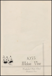 Page 7, 1955 Edition, Weatherford High School - Melon Vine Yearbook (Weatherford, TX) online yearbook collection