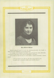 Page 14, 1922 Edition, Abilene High School - Flashlight Yearbook (Abilene, TX) online yearbook collection