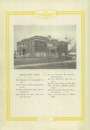 Page 16, 1922 Edition, Abilene High School - Flashlight Yearbook (Abilene, TX) online yearbook collection