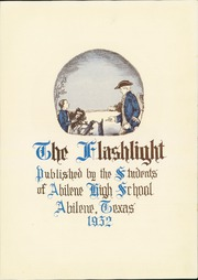 Page 11, 1932 Edition, Abilene High School - Flashlight Yearbook (Abilene, TX) online yearbook collection