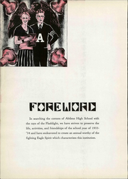 Page 12, 1934 Edition, Abilene High School - Flashlight Yearbook (Abilene, TX) online yearbook collection
