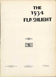 Page 7, 1934 Edition, Abilene High School - Flashlight Yearbook (Abilene, TX) online yearbook collection