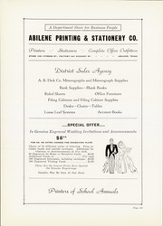 Page 168, 1937 Edition, Abilene High School - Flashlight Yearbook (Abilene, TX) online yearbook collection