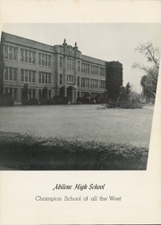 Page 13, 1943 Edition, Abilene High School - Flashlight Yearbook (Abilene, TX) online yearbook collection