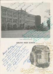 Page 11, 1944 Edition, Abilene High School - Flashlight Yearbook (Abilene, TX) online yearbook collection