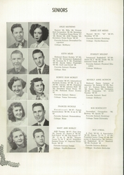 Page 38, 1949 Edition, Abilene High School - Flashlight Yearbook (Abilene, TX) online yearbook collection