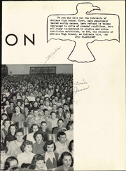 Page 11, 1952 Edition, Abilene High School - Flashlight Yearbook (Abilene, TX) online yearbook collection
