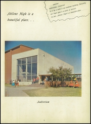 Page 9, 1957 Edition, Abilene High School - Flashlight Yearbook (Abilene, TX) online yearbook collection