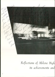 Page 6, 1964 Edition, Abilene High School - Flashlight Yearbook (Abilene, TX) online yearbook collection