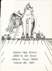 Page 5, 1981 Edition, Abilene High School - Flashlight Yearbook (Abilene, TX) online yearbook collection