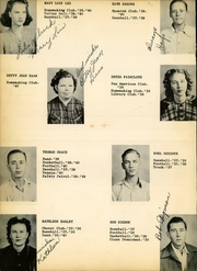 Page 14, 1941 Edition, Pine Tree High School - Buccaneer Yearbook (Longview, TX) online yearbook collection